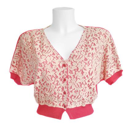 Pinko Shirt mit Spitze
