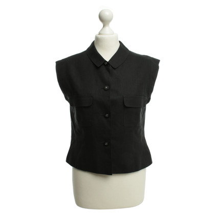Chanel Sleeved blouse in black