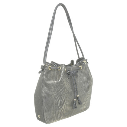 Other Designer St. John - Pouch Pocket with metallic effect
