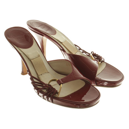 Christian Dior Sandalen in Bordeaux