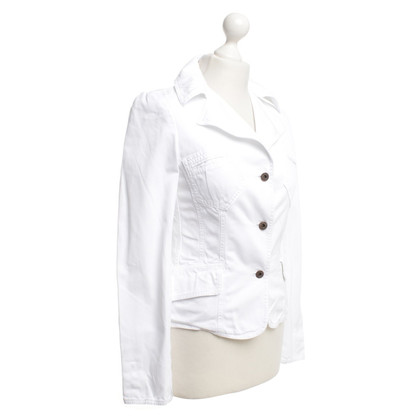 Dolce & Gabbana Cotton blazer in white