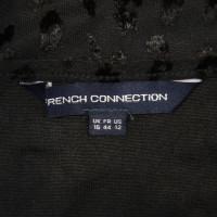 French Connection Kleid in Schwarz