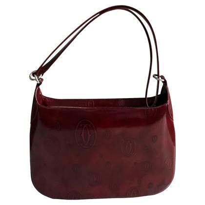 Cartier Monogram Leren Handbag
