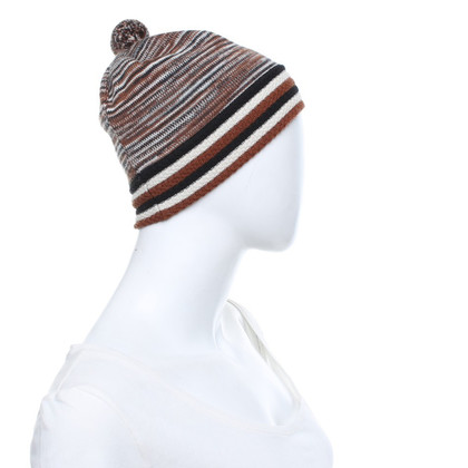 Missoni Cap in Tricolor
