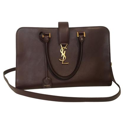 """Yves Saint Laurent """"Poignée de monogramme Cabas Bag"""""""