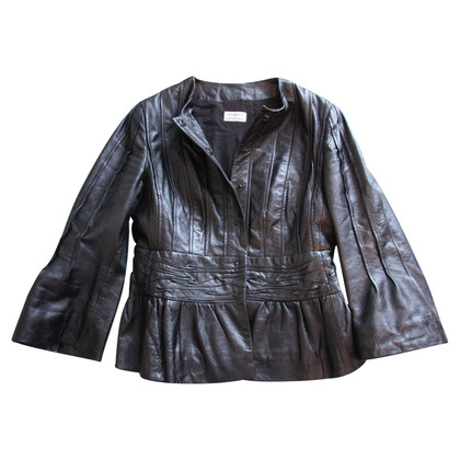 Philosophy di Alberta Ferretti leather jacket