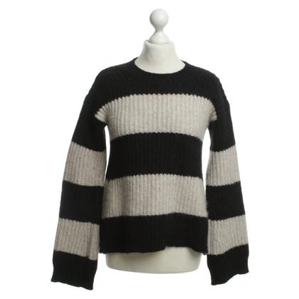 Closed Maglione maglia con motivo a strisce