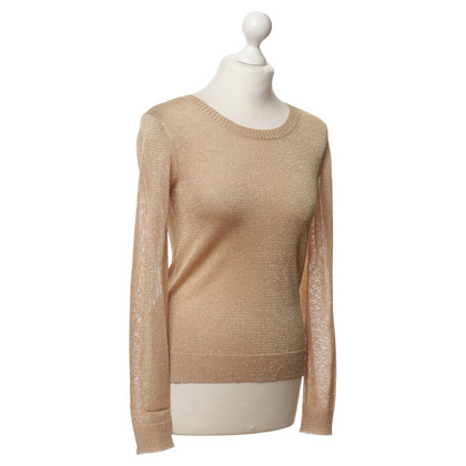 By Malene Birger Sweater with fancy yarn