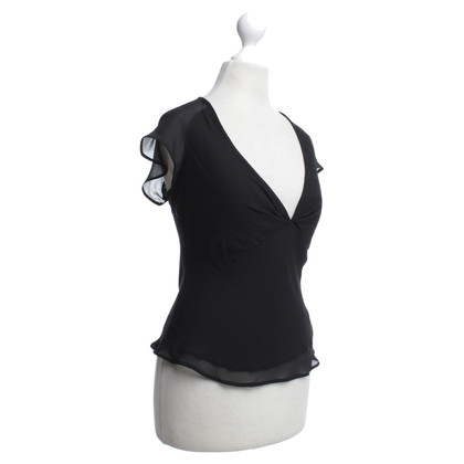 Etro Silk top in black