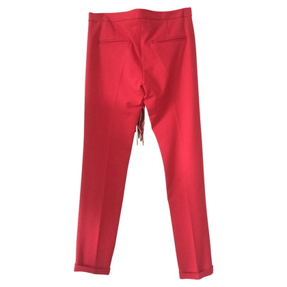 MSGM trousers in red