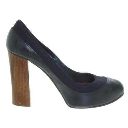 Chloé pumps in donkerblauw