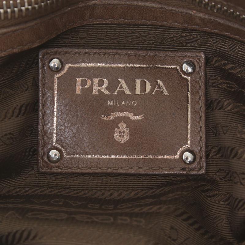 ... order prada leather shoulder bag in taupe 04605 720fb ... 09578160f3a28