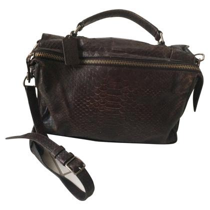 Coach Handbag in python look