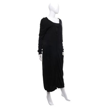 Twin-Set Simona Barbieri Knitted coat in black