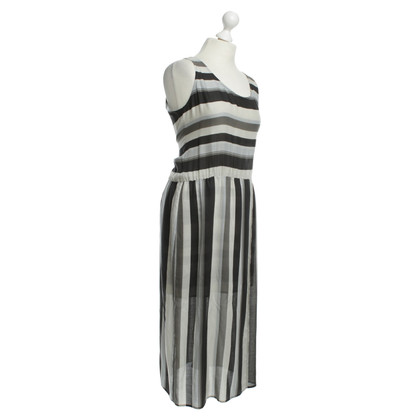 Drykorn Dress with stripe pattern