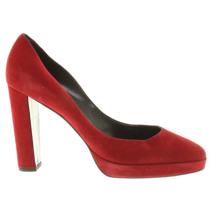 Pierre Hardy pumps in red