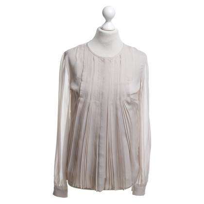 Diane von Furstenberg Silk blouse with pleats