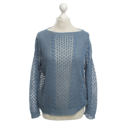Stefanel Knit Top in Blue