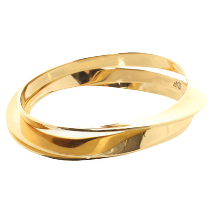 Diane von Furstenberg Gold colored bangle