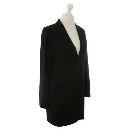 Ann Demeulemeester Coat in black