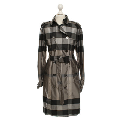 Burberry Trenchcoat mit Muster