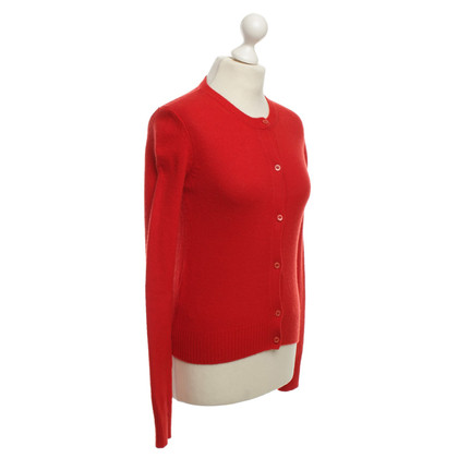 Prada Strickjacke in Rot