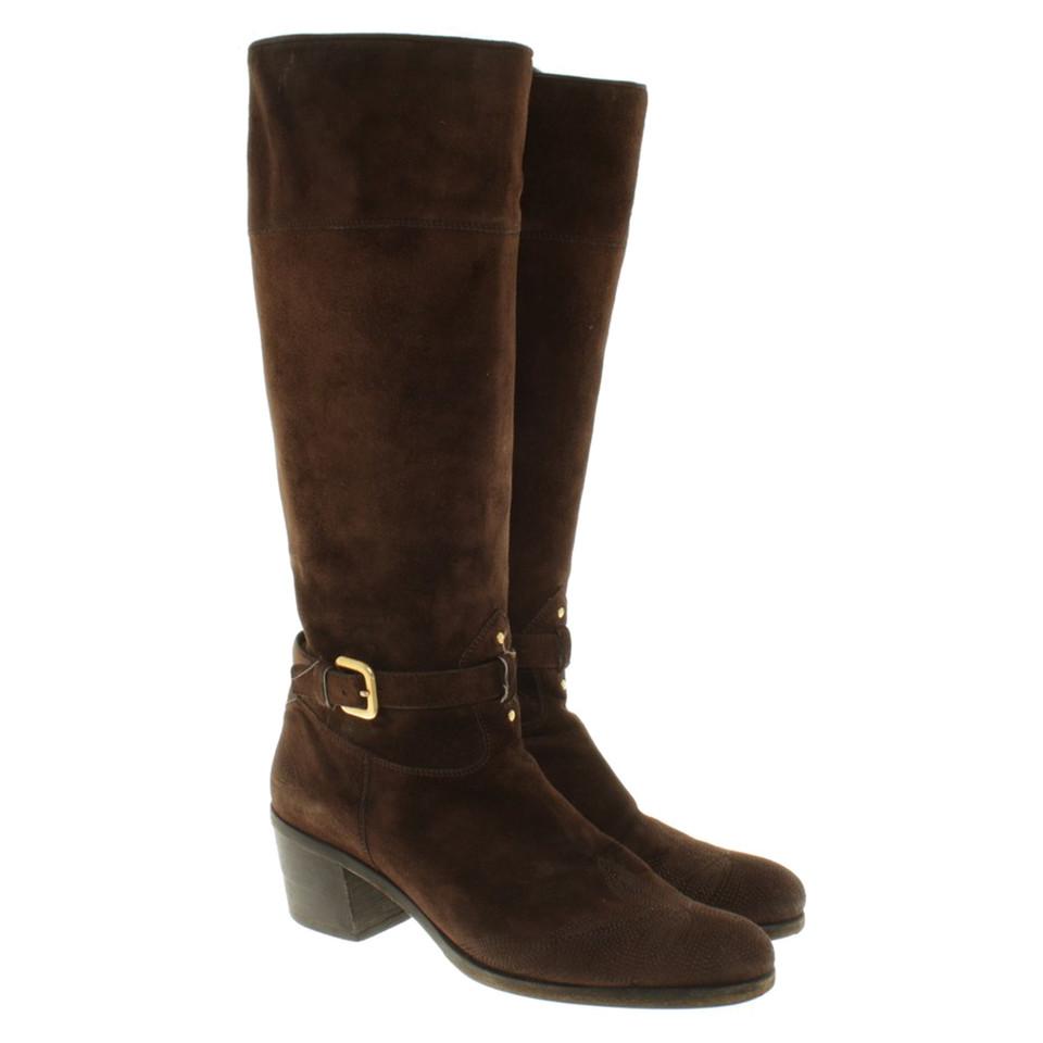 Prada Boots made of suede