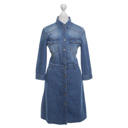 7 For All Mankind Denim Robe chemise