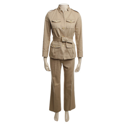 Céline tailleur pantalone in beige