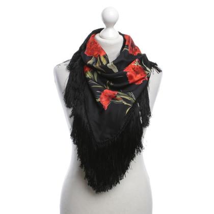 Dolce & Gabbana Schal mit Blumenprint