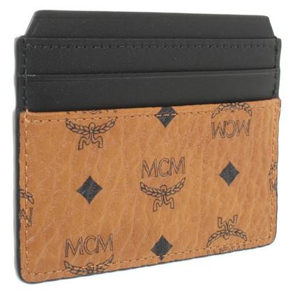 MCM Holder Card with Logo Pattern
