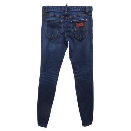 Dsquared2 Skinny Jeans Vernietigd