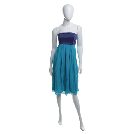 French Connection Kleid in Blau/T眉rkis T眉rkis