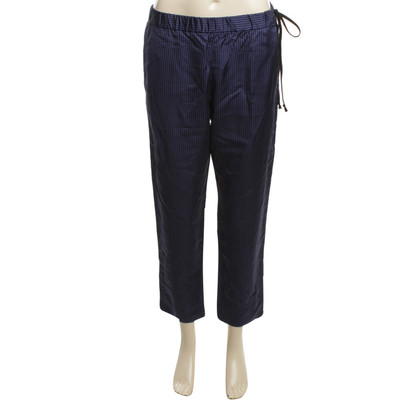 Dries van Noten trousers in dark blue