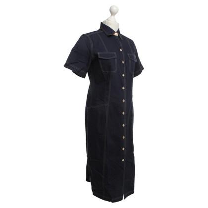 Van Laack Dress in jeans look