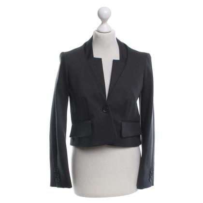 Céline Short blazer in grey-brown