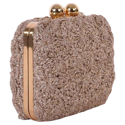 Dolce & Gabbana clutch with crochet trim