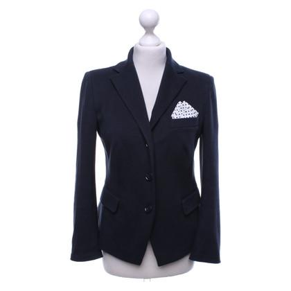 Laurèl Sportieve blazer met zakdoek