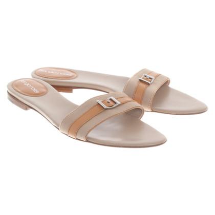 Sergio Rossi Sandals in beige / brown