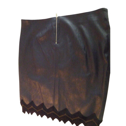 Jitrois leather skirt