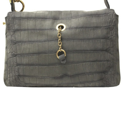 Yves Saint Laurent Maxi Clutch Stamped