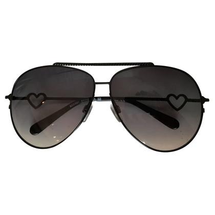 Moschino Pilotenbrille mit Herzdetail