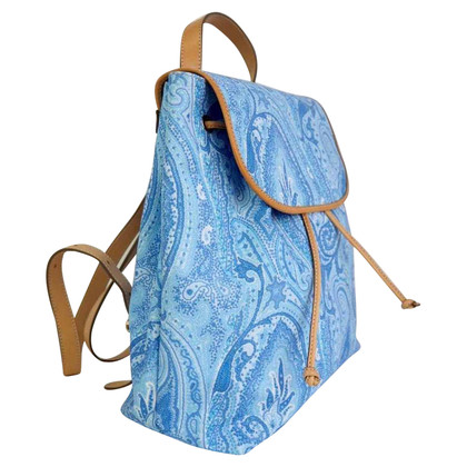 Etro Leather Backpack