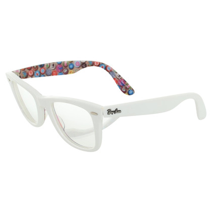 Ray Ban Glasses in white