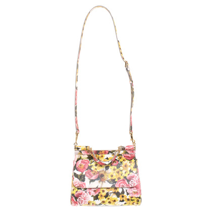 Dolce & Gabbana '' Sicily Bag Medium '' with floral print