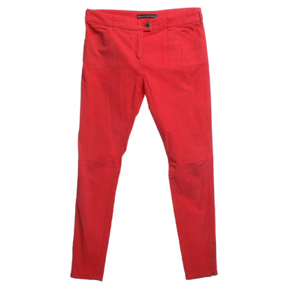 Balenciaga Corduroy pants in red