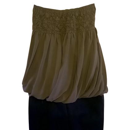 Comptoir des Cotonniers Silk-top in khaki