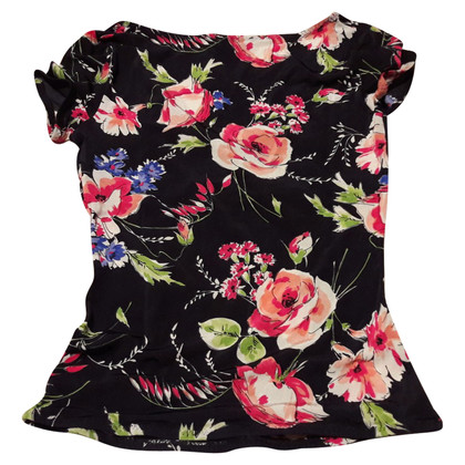 Dolce & Gabbana Jersey shirt with floral print