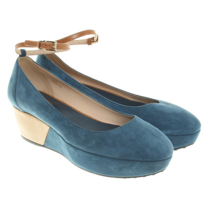 Tod's Ballerinas with plateau