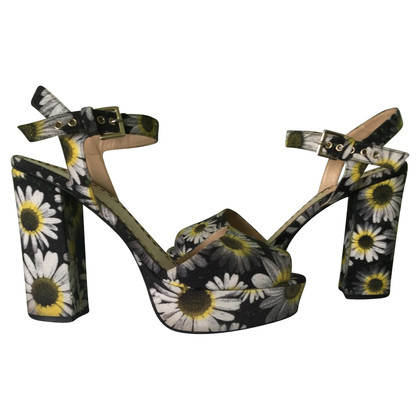 Moschino Cheap and Chic Sandaletten mit Blumenmuster